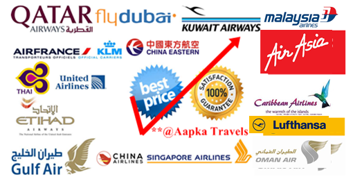 Send your queries for International Travel at support@aapkatravels.com